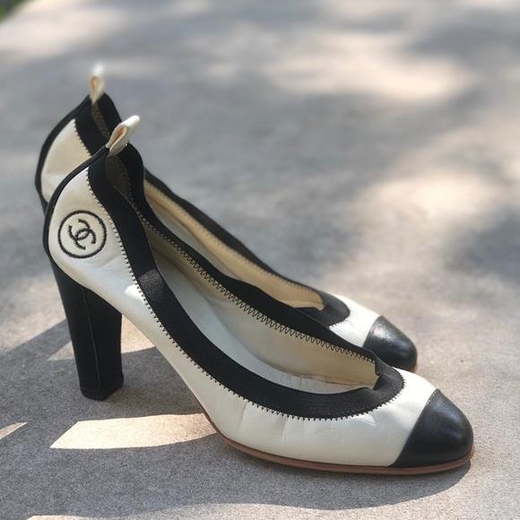 CHANEL Shoes   Cc Stretch Spirit Pumps